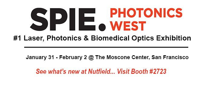Nutfield Tech Exhibiting at Photonics West