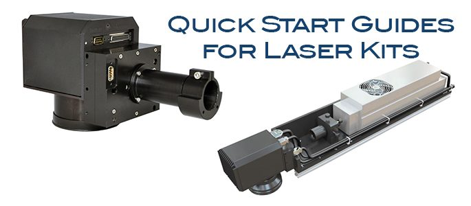 Quick Start Guides for Laser Kits